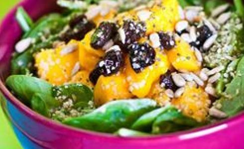 Spinach and Mango Salad