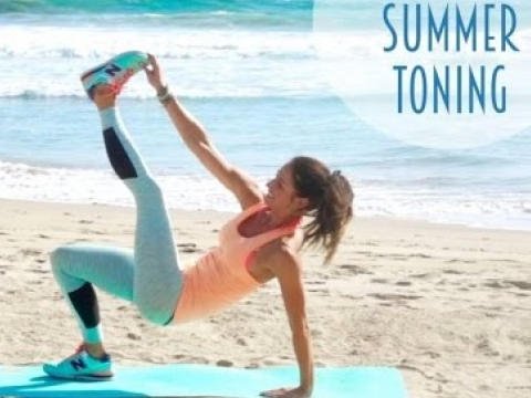 7 Minute Summer Toning Routine!!