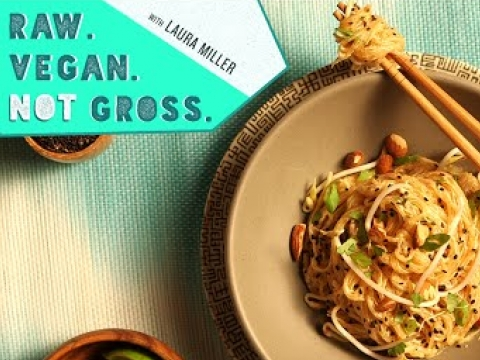Raw Vegan Pad Thai | Raw. Vegan. Not Gross