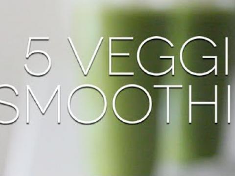 5 Veggie Smoothies