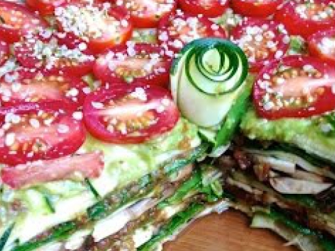 Raw Vegan Lasagna Recipe! ♥