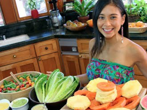 What a Raw Vegan Eats in a Day!
