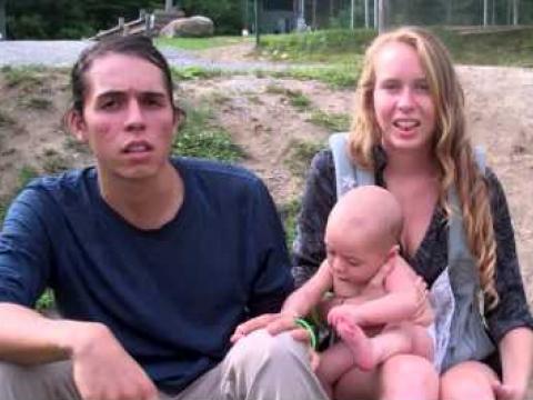 Super Healthy Raw Vegan Baby and Breastfeeding
