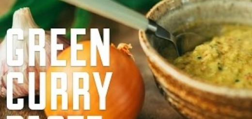 How to make a simple Green Curry Paste