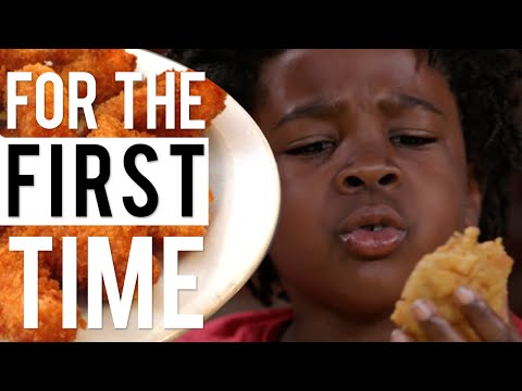 Kids Try Vegan Soul Food For the First Time