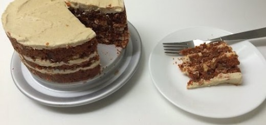 Raw Vegan Carrot Cake with Frosting