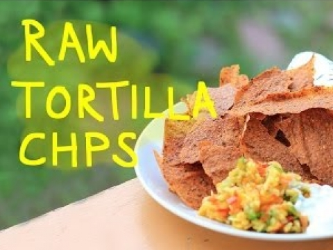 Raw Tortilla Chips & Bread Recipe