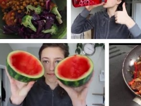 What a Vegan Teenager Eats In A Day
