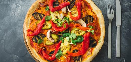 Exotic Smoky Moroccan Pizza
