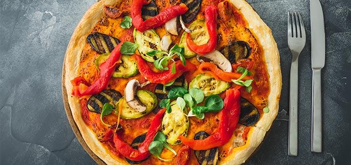 Exotic Smoky Moroccan Pizza