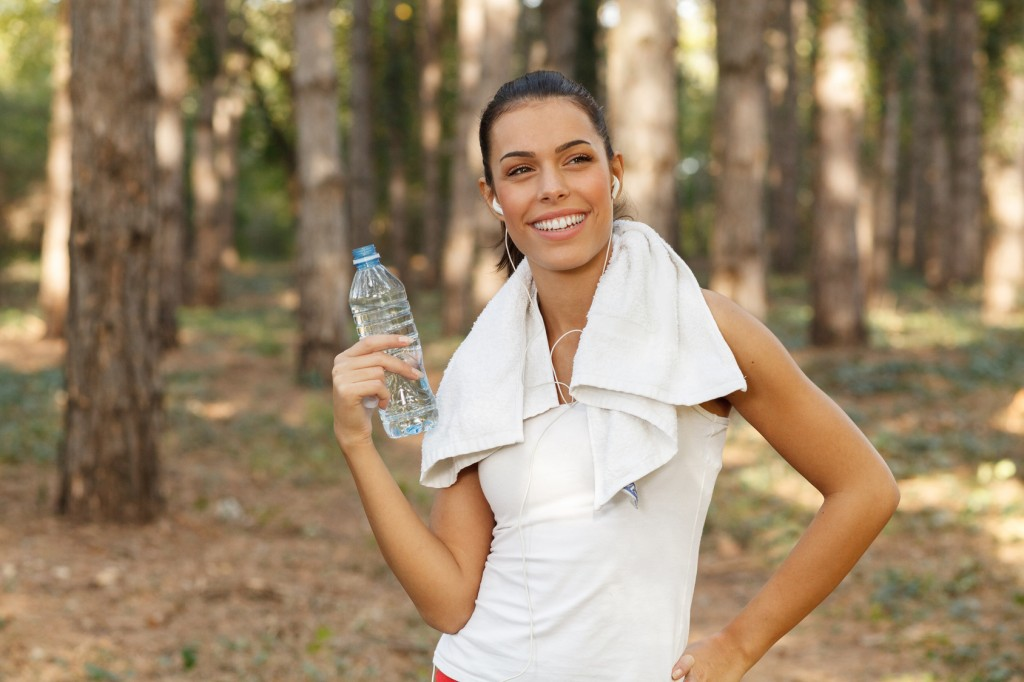water; drinking; woman; drink; bottle; fitness; sport; female; girl; young; training; summer; exercise; healthy; outdoor; fit; beautiful; workout; people; adult; caucasian; athlete; nature; person; women; lifestyle; sports; outside; thirsty; runner; running; active; jogging; park; brunette; leisure; recreation; attractive; run; forest; resting