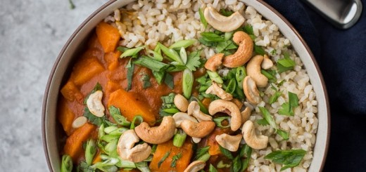 Sweet Potato Curry via Naturally Ella
