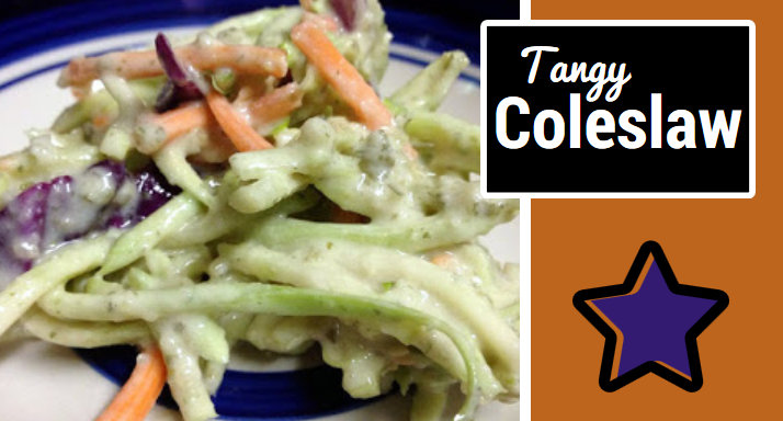Tangy Vegan Coleslaw Recipe for Heart Health