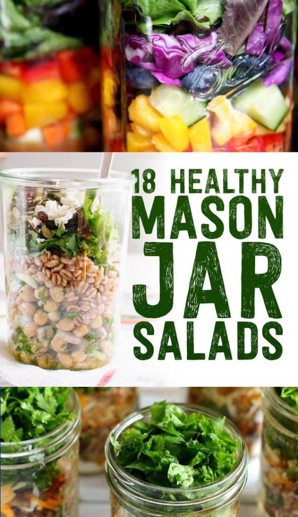 18 Healthy Mason Jar Recipes