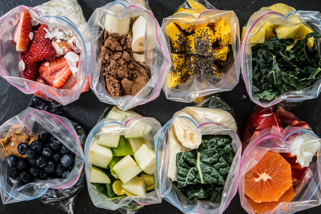 8 Days of Smoothies in a Bag