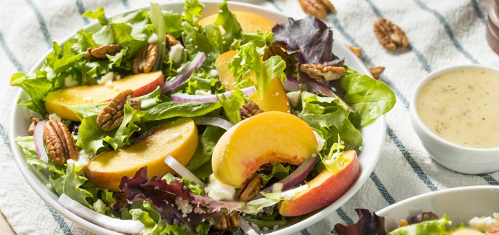 Mixed Green Deli Style Salad With A Mustard Vinaigrette