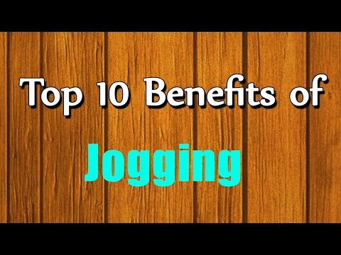 Top 10 Benefits of Jogging