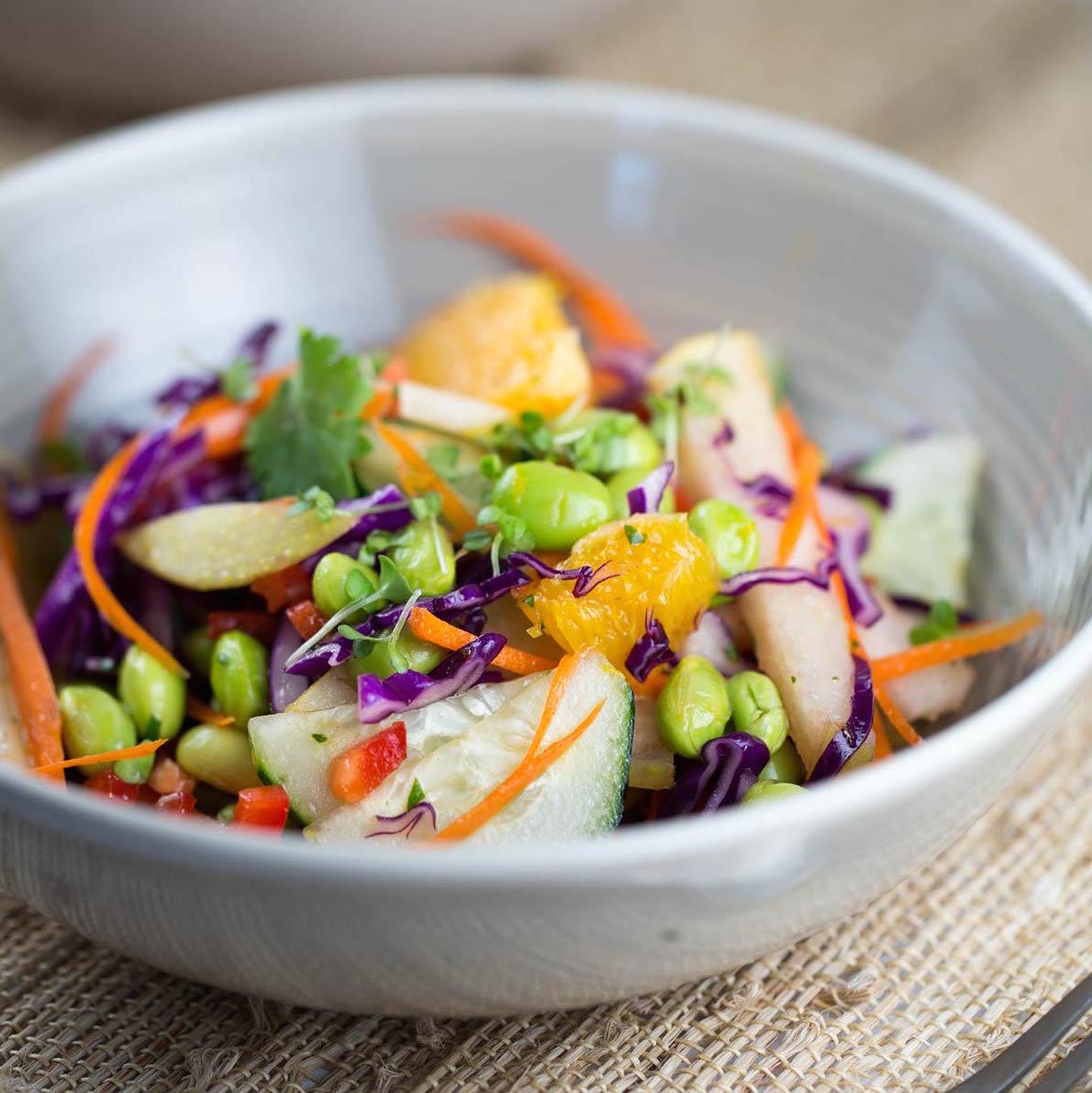 Jessica Gavin Healthy Asian Pear Salad Recipe
