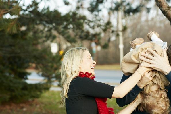 Angela Liddon Throws Her BabyAngela Liddon Throws Her Baby