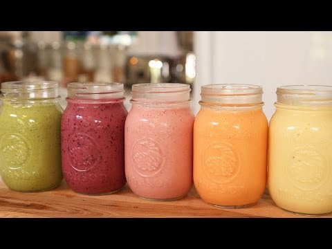 5 Healthy Breakfast Smoothies!