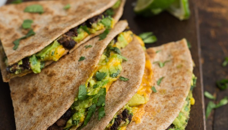 Chipotle-Black-Bean-and-Avocado-Quesadilla
