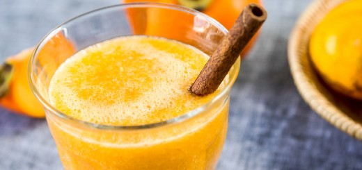 100% Full Body Cleanse Approved Cinnamon Persimmon Smoothie