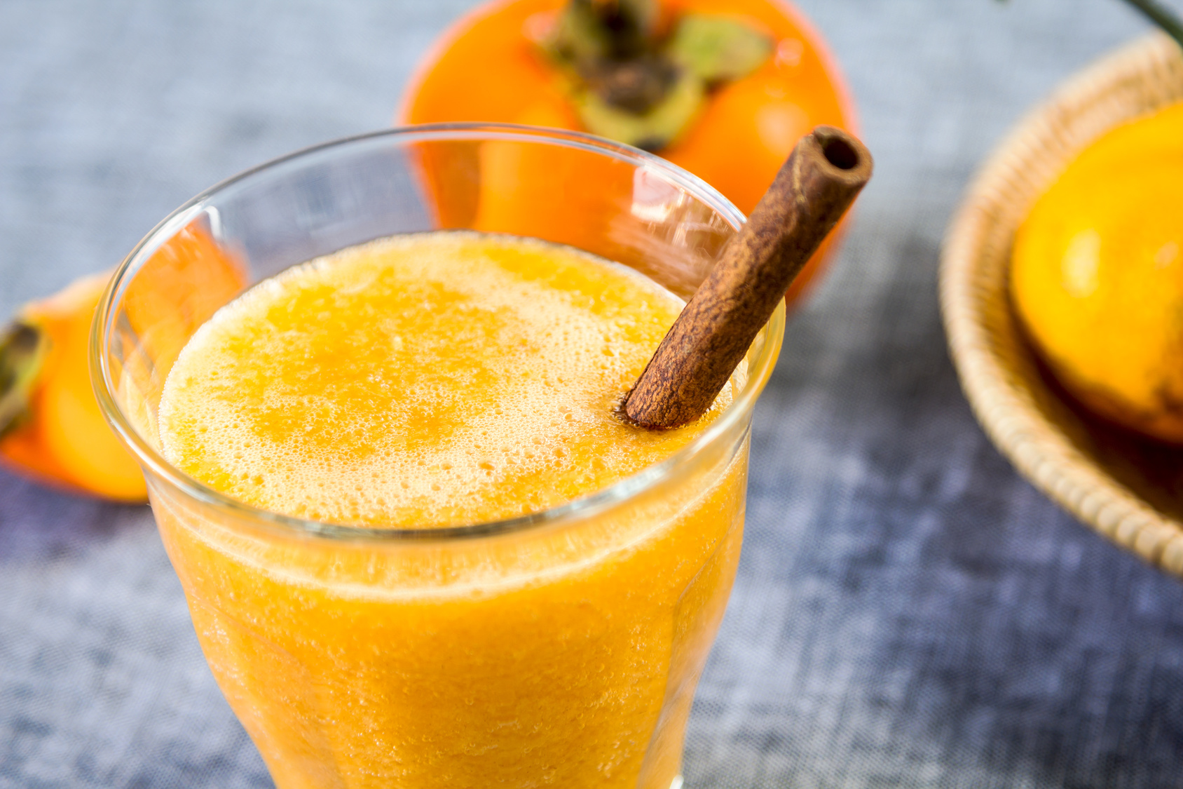 Vegan Raw Persimmon Smoothie