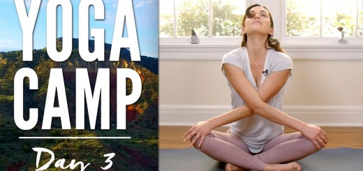 Yoga Camp Day 3 – I Embrace