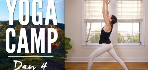 Yoga Camp Day 4 – I Awaken