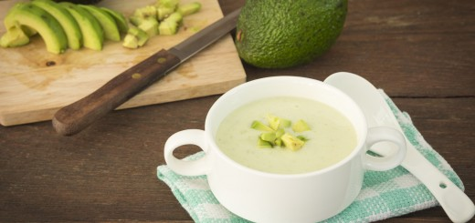 Creamy Roasted Poblano Soup