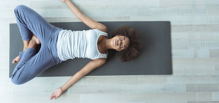 black-woman-yoga-pose