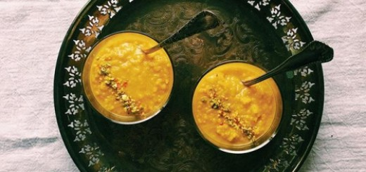 Golden Rice Pudding
