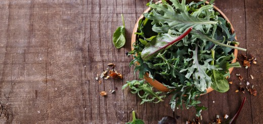 Kale and Coconut Salad with Orange-Infused Vinaigrette