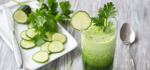 Ginger Cucumber Detox Juice with a Kick