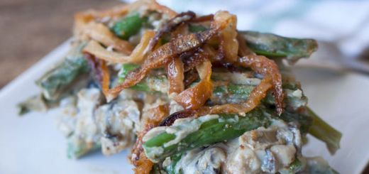 Green Bean Casserole That's Vegan And Gluten Free!