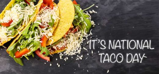 Today is National Taco Day