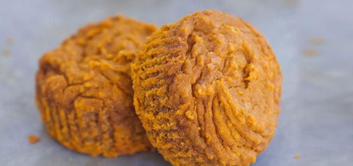 Flourless Pumpkin Blender Muffins