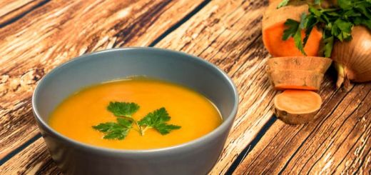 Sweet And Spicy Thai Curry Sweet Potato Soup