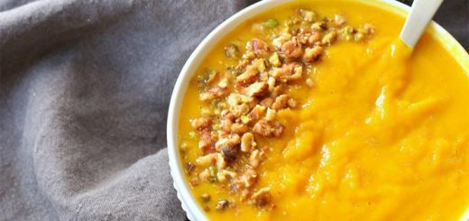 Butternut Squash And Turmeric Soup Ready In 30 Minutes