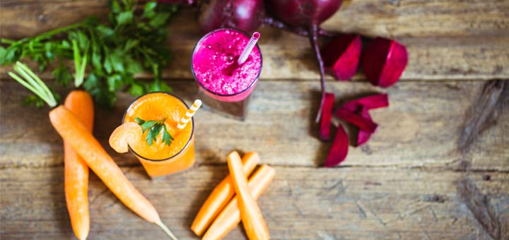 carrot-and-beet-juices