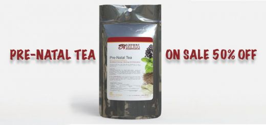Get Your Hands On Our Pre-Natal Tea While It's 50% Off!