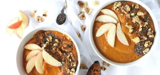 Pumpkin Pie Smoothie Bowl (For Breakfast Or Dessert)