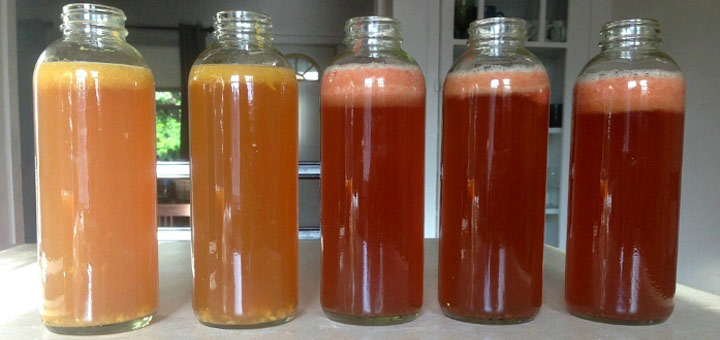 How To Flavor Your Own Kombucha With Fresh Fruit