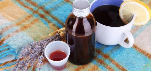 All Natural Cough Syrup Made With Fresh Herbs & Spices
