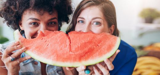 two-girls-eating-watermelon