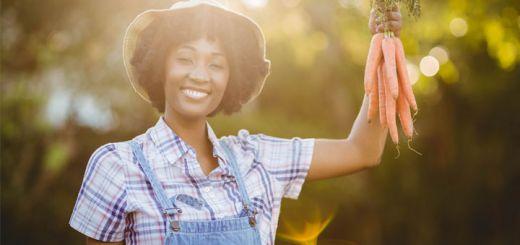 black-woman-gardening