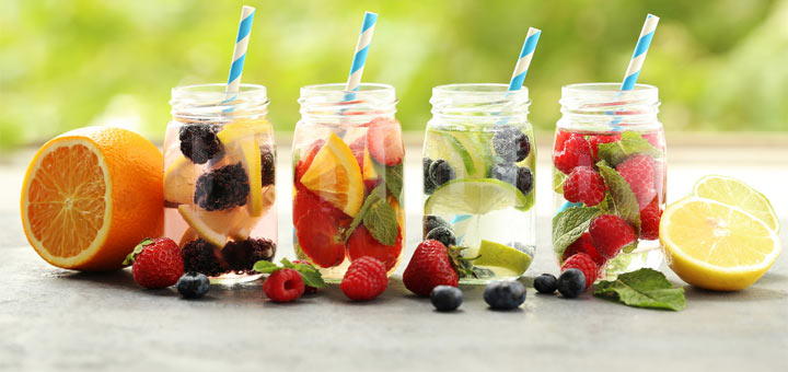 Try Drinking These Detox Waters For A Flatter Stomach