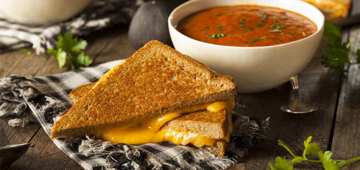 Celebrate Grilled Cheese Day With This Classic Vegan Combo