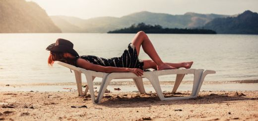 lounging-on-beach
