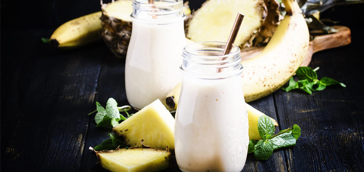 Post Workout Pineapple Smoothie